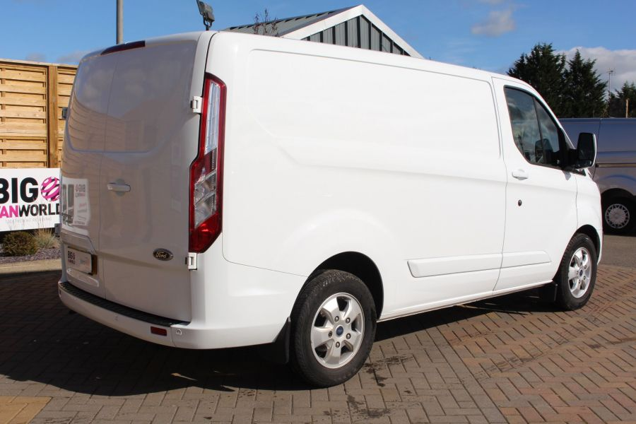 FORD TRANSIT CUSTOM 270 TDCI 125 L1 H1 LIMITED SWB LOW ROOF FWD - 6799 - 5