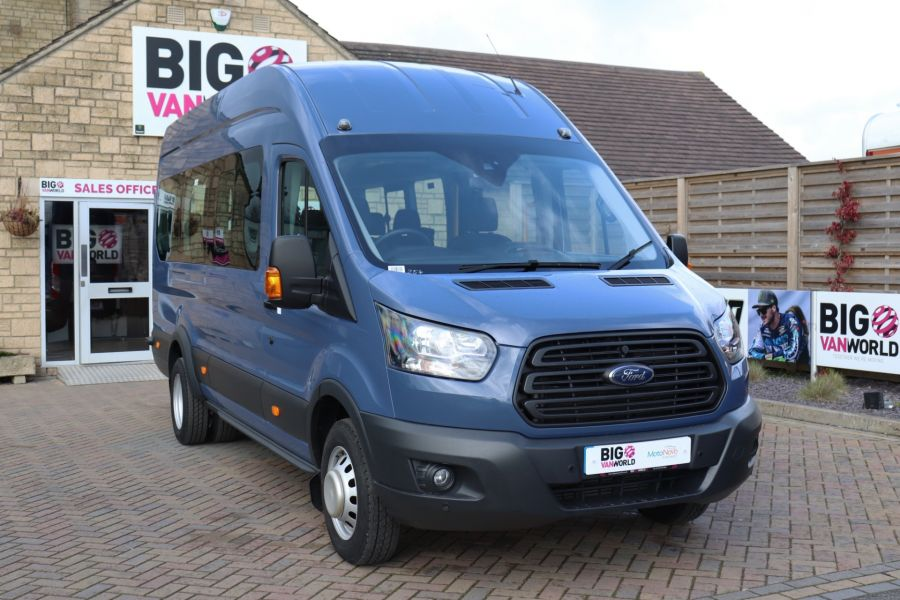FORD TRANSIT 460 TDCI 155 L4H3 17 SEAT BUS HIGH ROOF DRW RWD - 10252 - 4