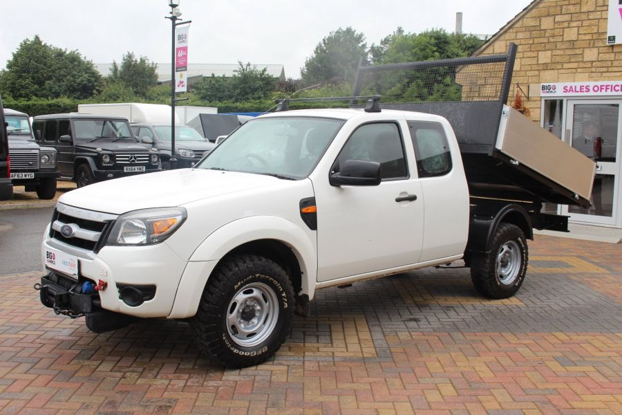 FORD RANGER XL 4X4 TDCI SUPER CAB ALLOY TIPPER - 6055 - 8