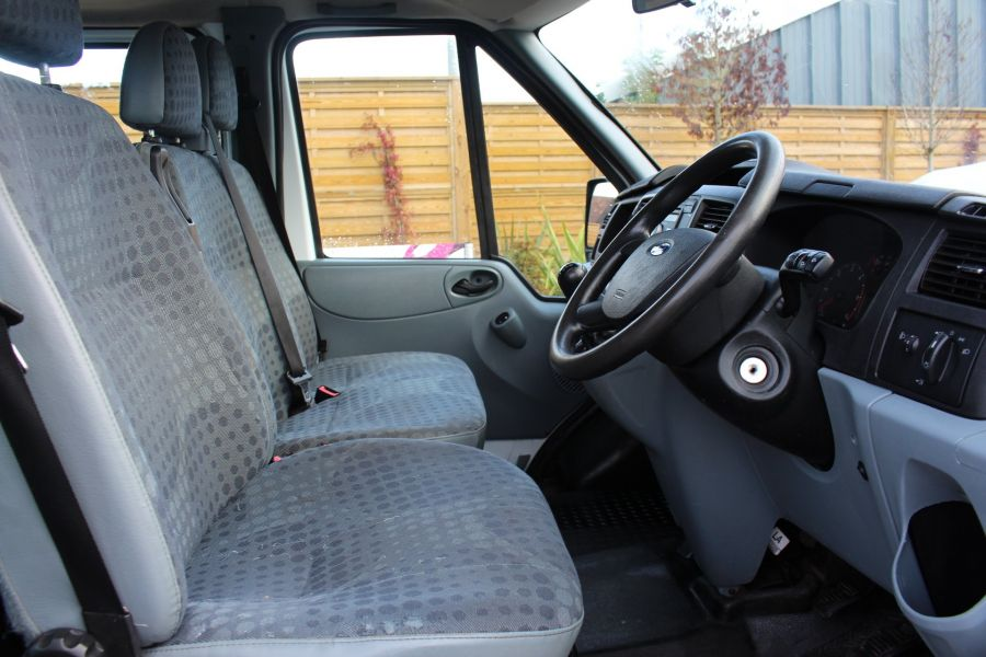 FORD TRANSIT 350 TDCI 125 LWB DOUBLE CAB 'ONE STOP' ALLOY DROPSIDE DRW RWD - 6761 - 11