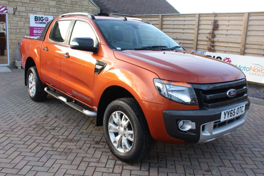 FORD RANGER WILDTRAK TDCI 200 4X4 DOUBLE CAB WITH ROLL'N'LOCK TOP - 8827 - 1