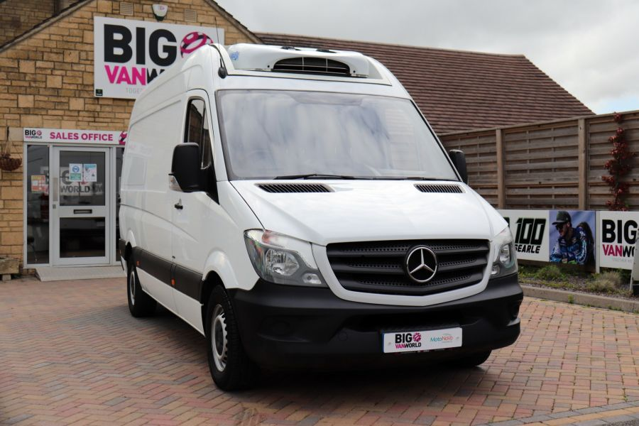 MERCEDES SPRINTER 314 CDI 140 MWB HIGH ROOF FRIDGE/FREEZER VAN - 11283 - 4