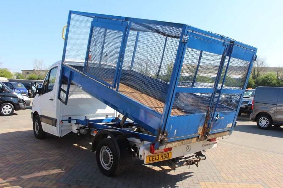 MERCEDES SPRINTER 313 CDI 129 MWB SINGLE CAB CAGED TIPPER - 9129 - 7