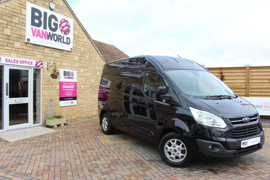 FORD TRANSIT CUSTOM 290 TDCI 155 L2 H2 LIMITED LWB HIGH ROOF FWD - 6755 - 1