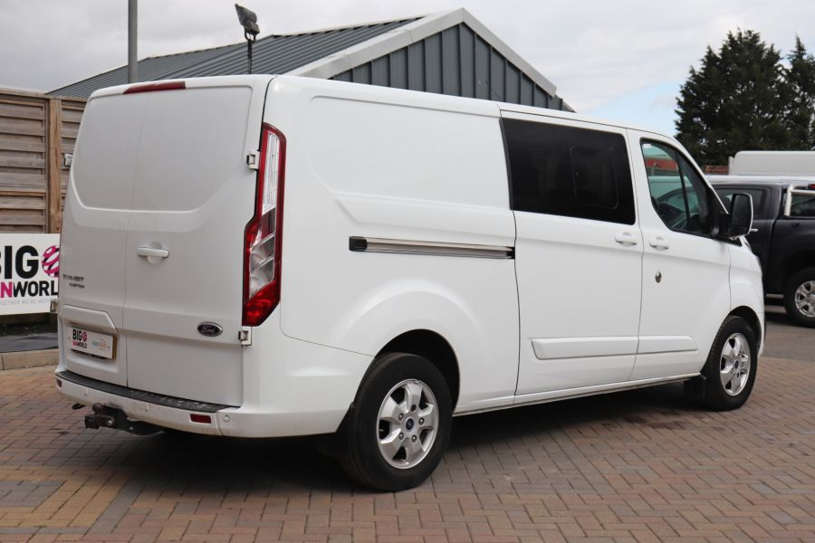 FORD TRANSIT CUSTOM 310 TDCI 130 L2H1 LIMITED DOUBLE CAB 6 SEAT CREW VAN LWB LOW ROOF FWD  (13819) - 12104 - 8