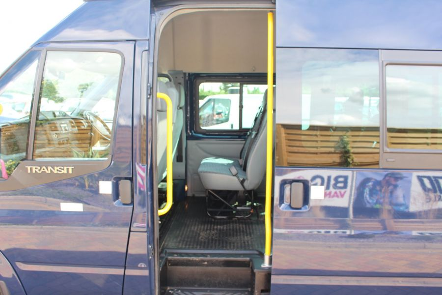 FORD TRANSIT 430 TDCI 135 LWB HIGH ROOF 17 SEATS BUS - 6332 - 18