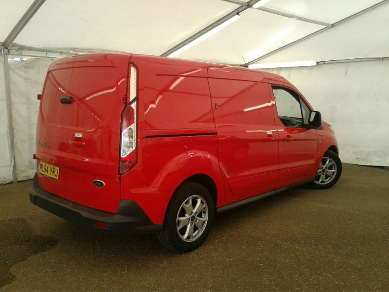FORD TRANSIT CONNECT 240 TDCI 115 L2H1 LIMITED LWB LOW ROOF - 9853 - 2