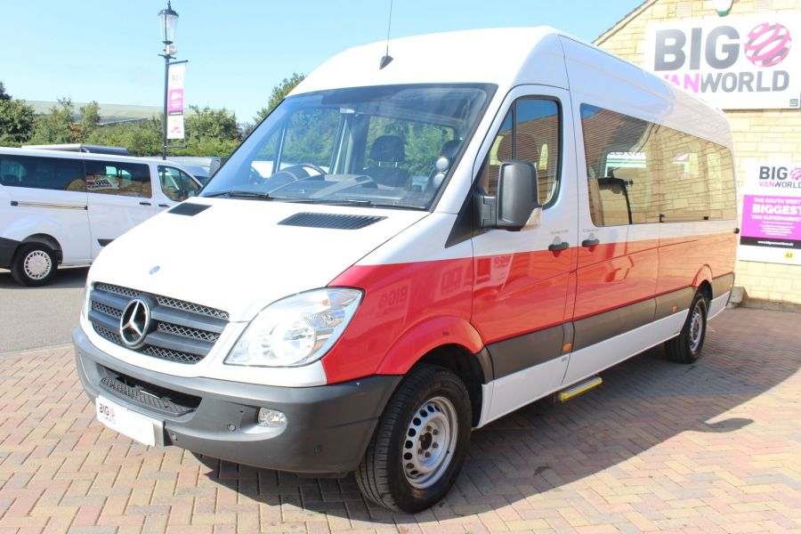 MERCEDES SPRINTER 316 CDI 163 TRAVELINER LWB 15 SEAT BUS HIGH ROOF - 8106 - 8