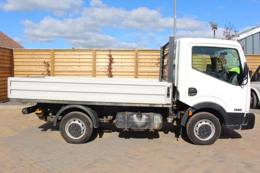 NISSAN CABSTAR 34.12 DCI 121 SWB ALLOY DROPSIDE - 6795 - 4