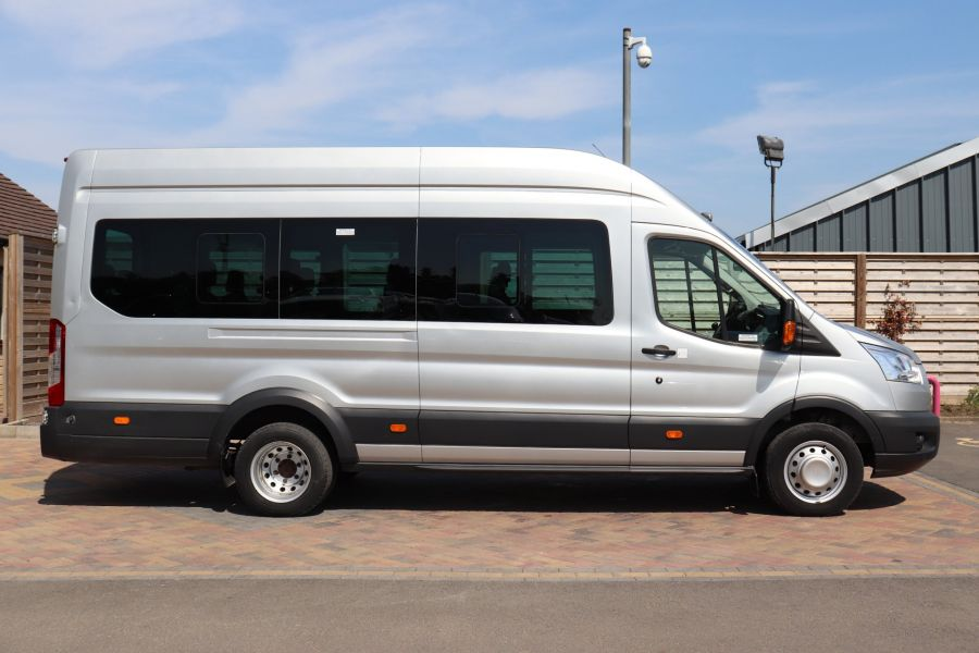 FORD TRANSIT 350 TDCI 155 L4H3 TREND 17 SEAT BUS HIGH ROOF DRW RWD  (13895) - 12177 - 5