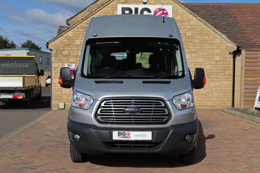FORD TRANSIT 460 TDCI 155 L4H3 TREND 17 SEAT BUS HIGH ROOF DRW RWD  - 9893 - 10