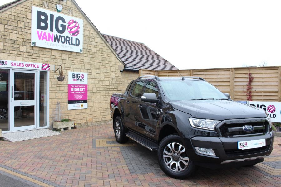 FORD RANGER WILDTRAK TDCI 197 4X4 DOUBLE CAB - 7635 - 2