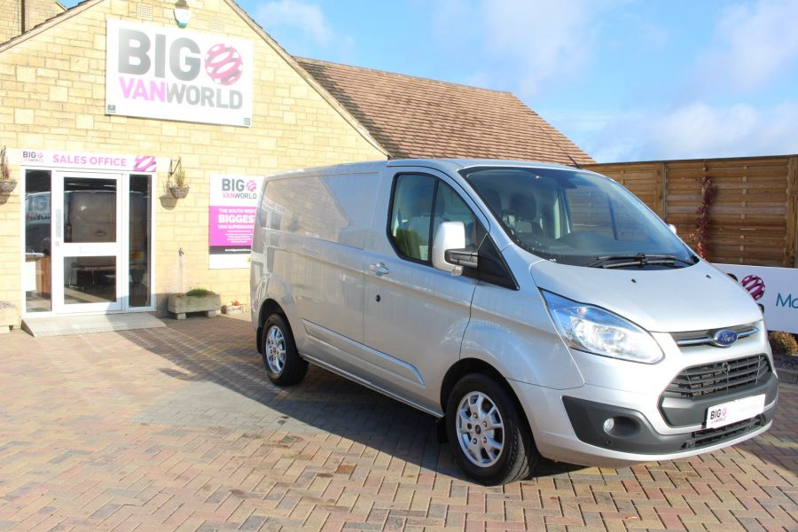 FORD TRANSIT CUSTOM 270 TDCI 125 L1 H1 LIMITED SWB LOW ROOF FWD - 7620 - 3