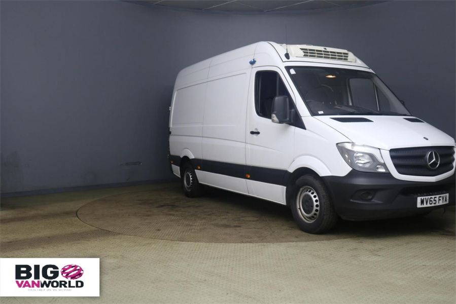 MERCEDES SPRINTER 313 CDI 129 MWB HIGH ROOF FRIDGE / FREEZER WITH OVERNNIGHT - 10181 - 1