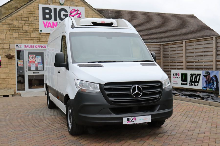 MERCEDES SPRINTER 314 CDI 143 L2H2 FRIDGE VAN MWB HIGH ROOF RWD - 12024 - 6