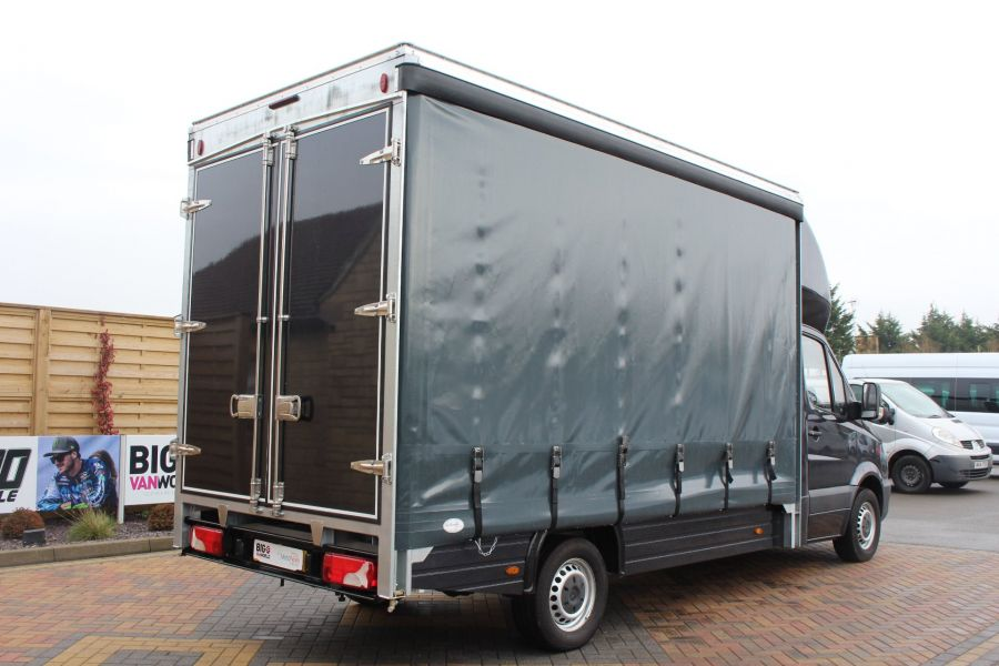 MERCEDES SPRINTER 313 CDI LWB 14FT CURTAIN SIDE BOX - 5627 - 4