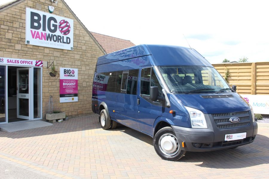 FORD TRANSIT 430 TDCI 135 LWB HIGH ROOF 17 SEATS BUS - 6332 - 1
