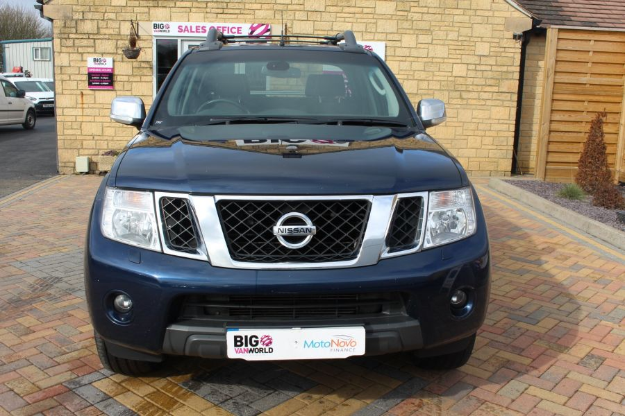 NISSAN NAVARA OUTLAW DCI 231 4X4 DOUBLE CAB WITH MOUNTAIN TOP - 7465 - 9
