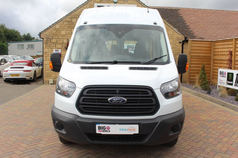 FORD TRANSIT 460 TDCI 125 L4 H3 LWB HIGH ROOF 17 SEAT BUS RWD - 6608 - 9