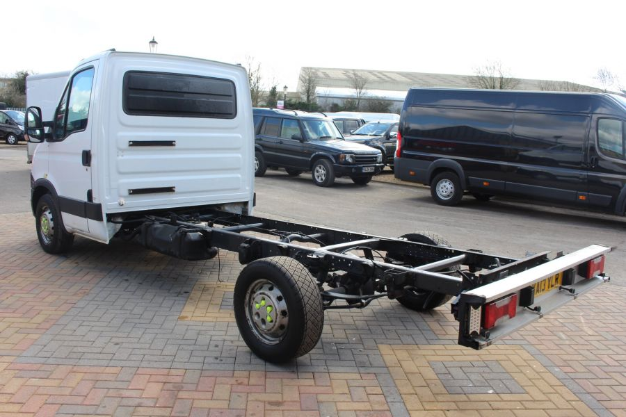 IVECO DAILY 35S11 3750 WB CHASSIS CAB - 7296 - 7