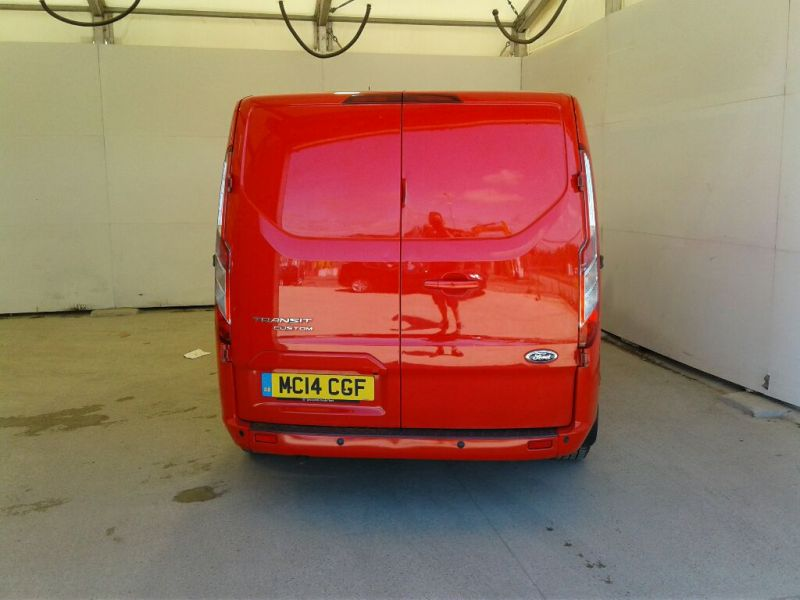 FORD TRANSIT CUSTOM 290 TDCI 125 L1H1 LIMITED SWB LOW ROOF FWD - 9695 - 3