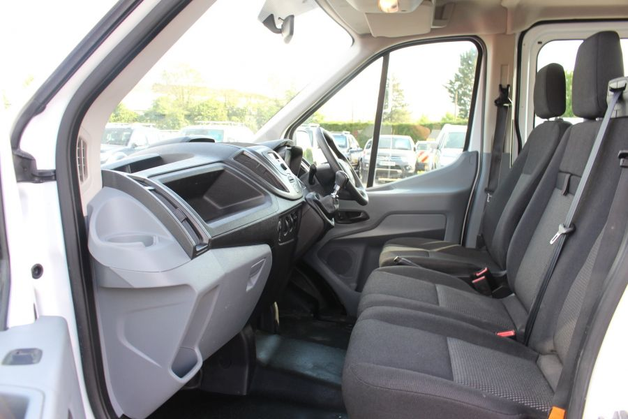 FORD TRANSIT 350 TDCI 130 L3 LWB 7 SEAT DOUBLE CAB 'ONE STOP' ALLOY TIPPER DRW RWD - 7634 - 23