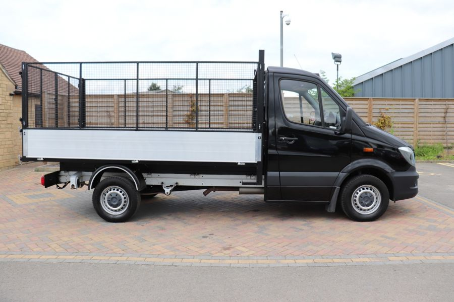 MERCEDES SPRINTER 313 CDI 129 MWD SINGLE CAB NEW BUILD ALLOY CAGED TIPPER - 10235 - 4