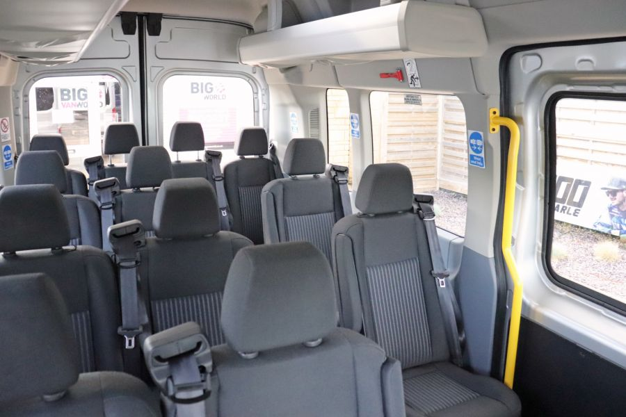 FORD TRANSIT 410 TDCI 155 L3 H3 TREND 15 SEAT BUS LWB HIGH ROOF RWD - 9126 - 42