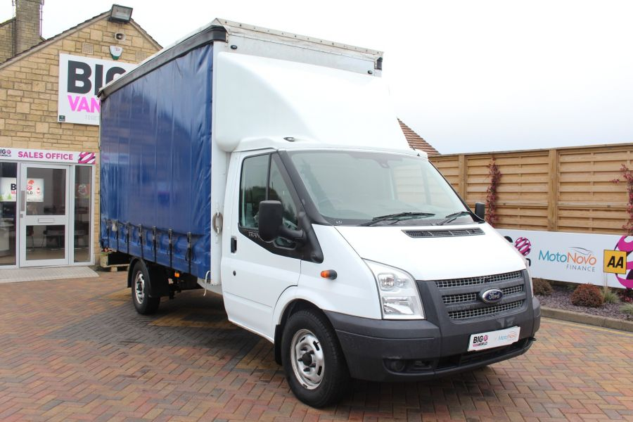 FORD TRANSIT 350 TDCI 125 LWB CURTAIN SIDE FWD - 6982 - 2