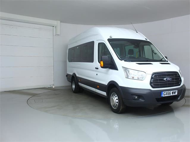 FORD TRANSIT 460 TDCI 125 L4 H3 TREND 17 SEAT BUS HIGH ROOF DRW RWD - 7579 - 1