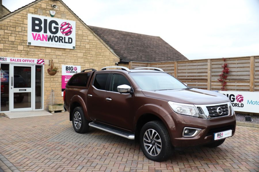 NISSAN NAVARA DCI 190 TEKNA 4X4  DOUBLE CAB WITH TRUCKMAN TOP AUTO - 10310 - 2
