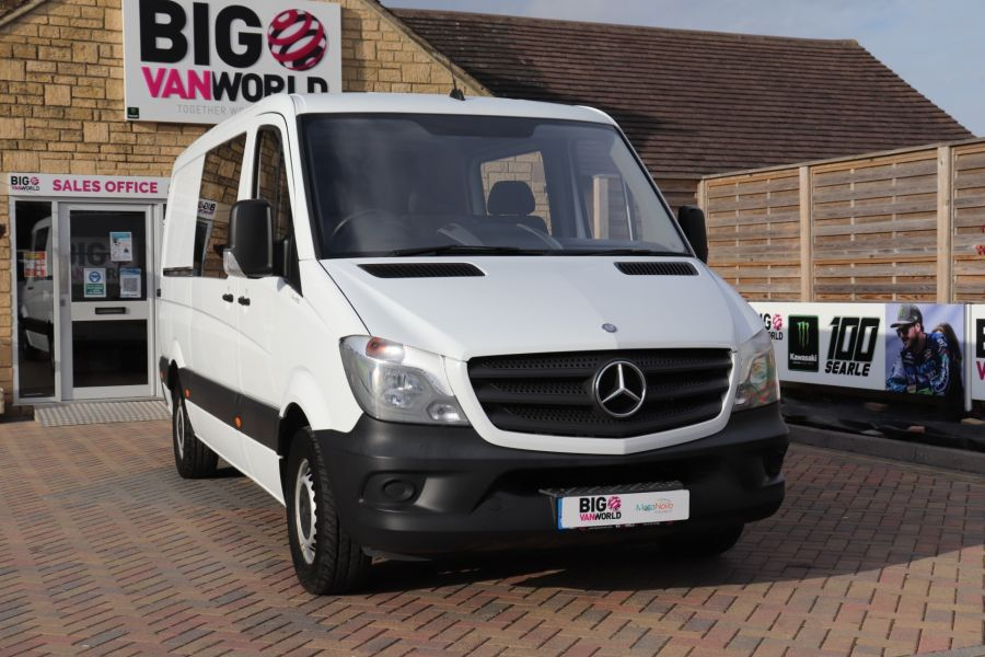 MERCEDES SPRINTER 313 CDI 129 MWB DOUBLE CAB 6 SEAT CREW VAN LOW ROOF - 11824 - 4