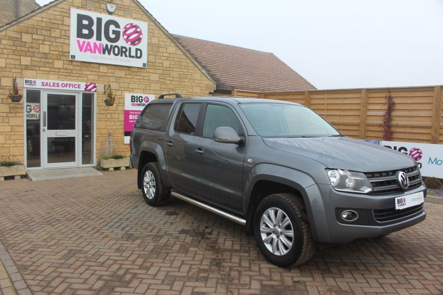 VOLKSWAGEN AMAROK TDI 180 HIGHLINE 4MOTION DOUBLE CAB WITH TRUCKMAN TOP AUTO - 6906 - 2