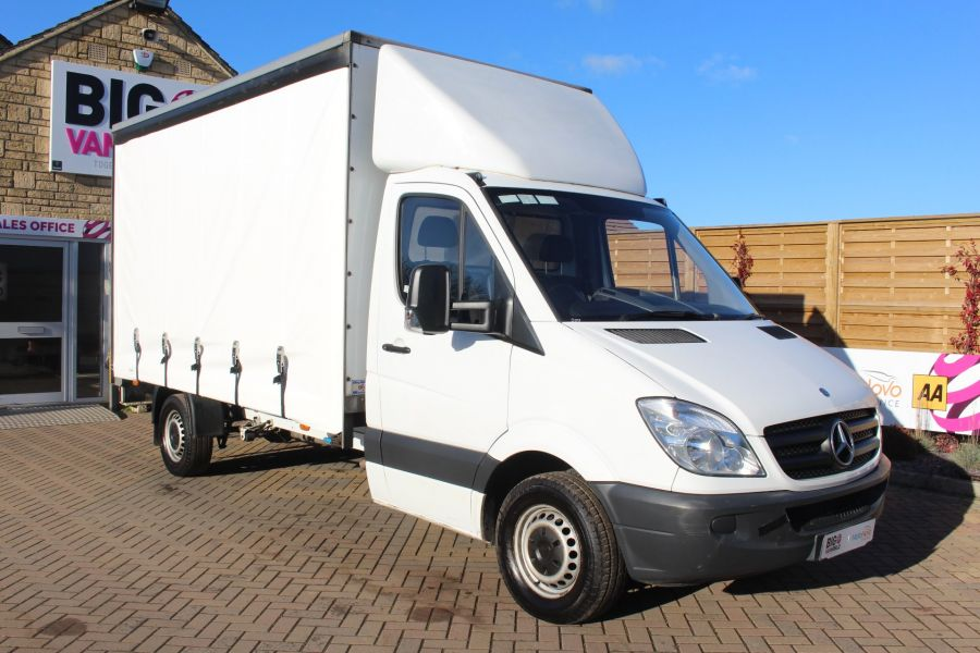 MERCEDES SPRINTER 313 CDI LWB CURTAIN SIDE BOX WITH TAIL LIFT - 6946 - 2