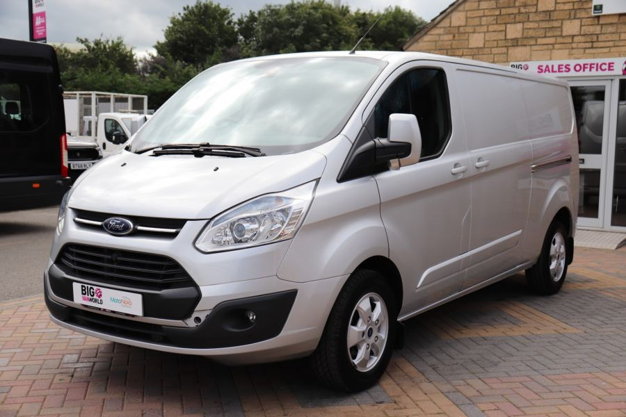 FORD TRANSIT CUSTOM 290 TDCI 130 L2H1 LIMITED LWB LOW ROOF FWD - 12272 - 12