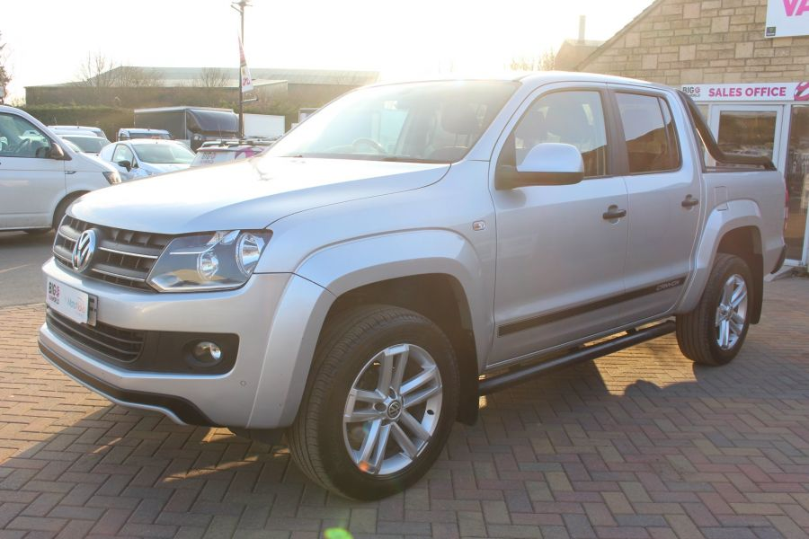 VOLKSWAGEN AMAROK TDI 180 CANYON 4MOTION DOUBLE CAB AUTO WITH ROLL'N'LOCK TOP - 7311 - 8