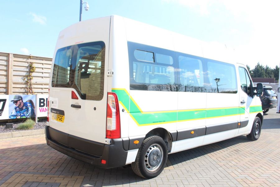 RENAULT TRUCKS MASTER LM35 DCI 100 L3 H2 8 SEAT PASSENGER TRANSPORT BUS AMBULANCE WITH WHEELCHAIR ACCESS LWB MEDIUM ROOF - 9138 - 5