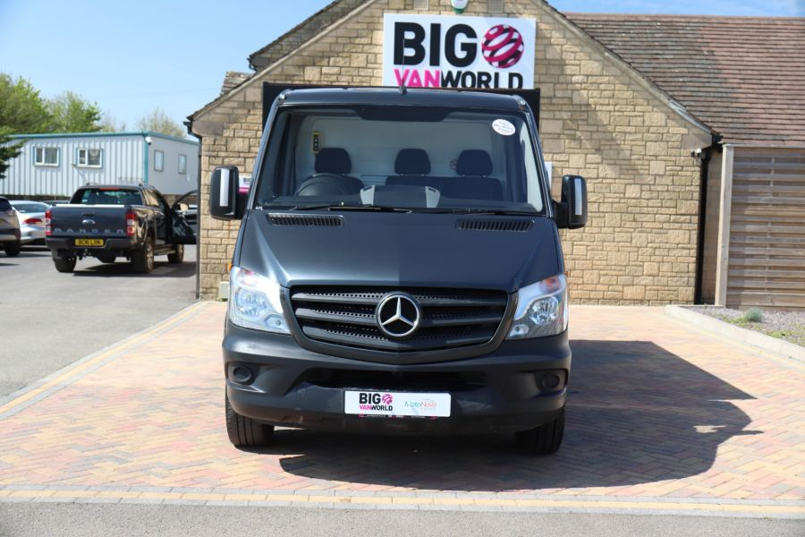 MERCEDES SPRINTER 313 CDI 129 SINGLE CAB NEW BUILD HIGH SIDED ALLOY TIPPER - 9672 - 21
