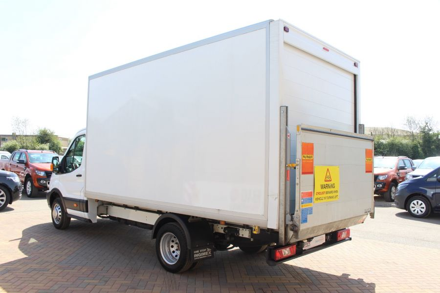 FORD TRANSIT 350 TDCI 125 L4 DRW 'ONE STOP' HIGH CAPACITY LUTON BOX WITH TAIL LIFT - 6135 - 6