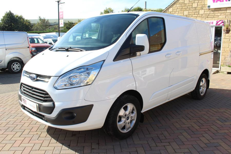FORD TRANSIT CUSTOM 270 TDCI 125 L1 H1 LIMITED SWB LOW ROOF FWD - 6799 - 8