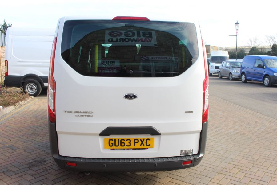FORD TOURNEO CUSTOM 300 TDCI 125 ZETEC L2 H1 9 SEAT MINIBUS LWB LOW ROOF - 8771 - 6