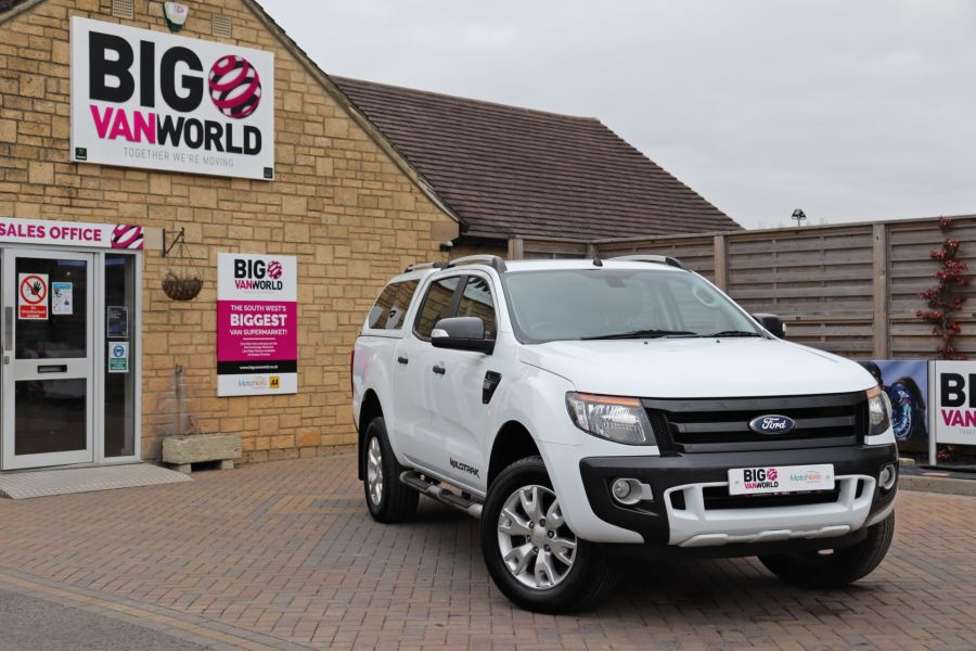 FORD RANGER TDCI 200 WILDTRAK 4X4 DOUBLE CAB WITH TRUCKMAN TOP  (13921) - 12353 - 5