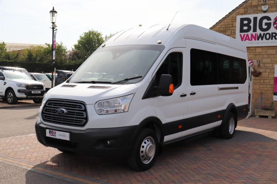 FORD TRANSIT 460 TDCI 125 L4H3 TREND 17 SEAT BUS HIGH ROOF DRW RWD - 10326 - 10