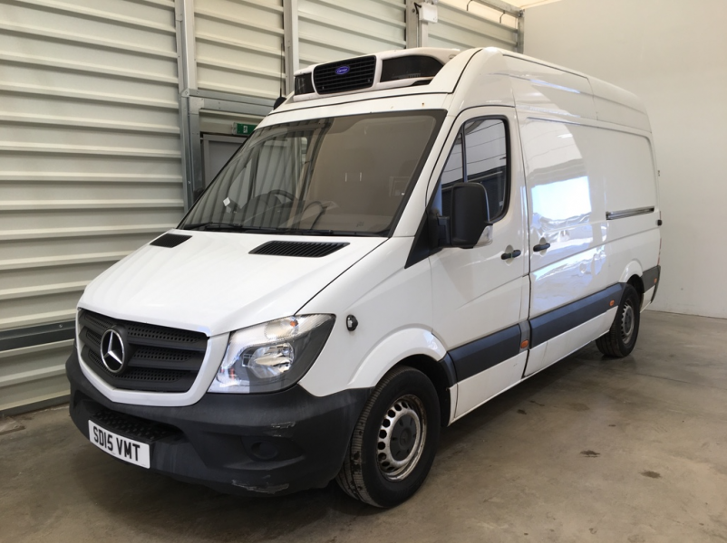 MERCEDES SPRINTER 313 CDI 129 MWB HIGH ROOF FRIDGE/FREEZER VAN WITH OVERNIGHT - 11409 - 6