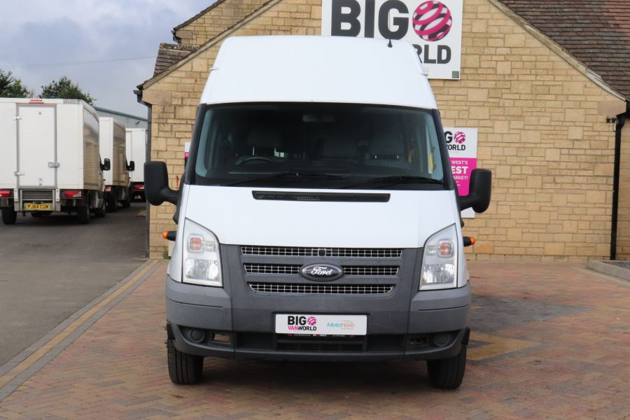 FORD TRANSIT 430 TDCI 135 EL LWB 17 SEAT BUS WITH WHEELCHAIR ACCESS HIGH ROOF DRW RWD - 9665 - 10