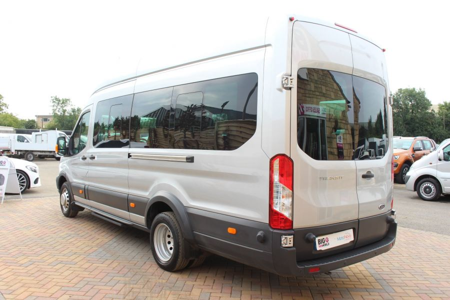 FORD TRANSIT 460 TDCI 125 L4 H3 TREND LWB HIGH ROOF 17 SEAT BUS RWD - 6563 - 7