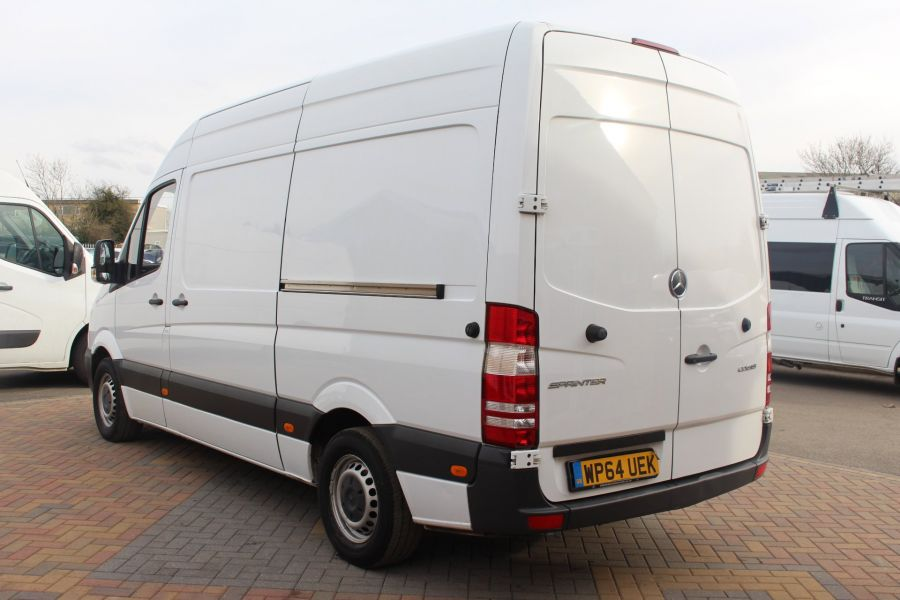 MERCEDES SPRINTER 313 CDI MWB HIGH ROOF FRIDGE / FREEZER VAN WITH OVERNIGHT - 7254 - 7