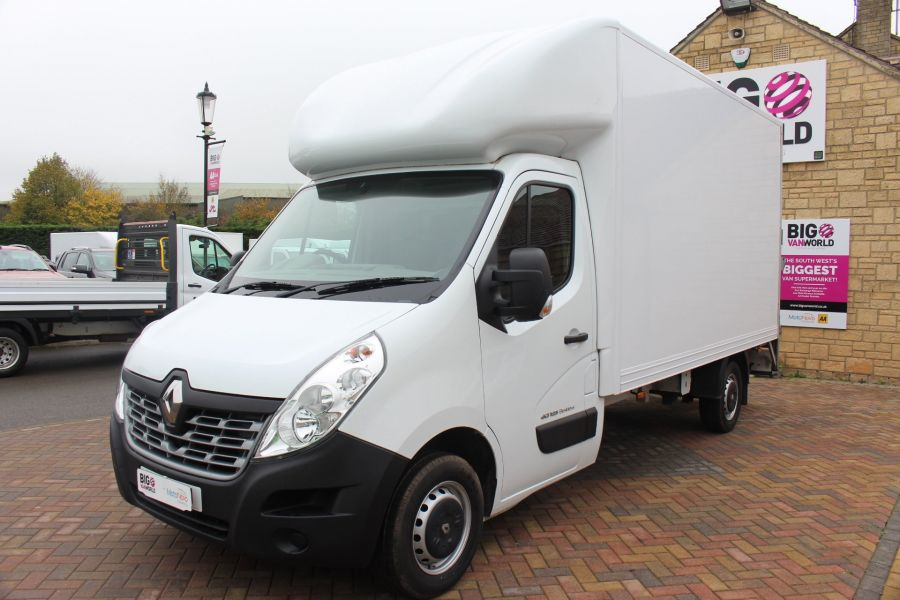 RENAULT MASTER LL35 DCI 125 BUSINESS LWB LUTON WITH TAIL LIFT  - 6880 - 7