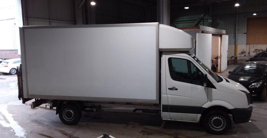 VOLKSWAGEN CRAFTER CR35 TDI 136 STARTLINE LWB 'ONE STOP' LUTON WITH TAIL LIFT - 10847 - 3
