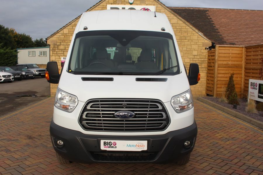 FORD TRANSIT 460 TDCI 125 L4 H3 TREND LWB HIGH ROOF 17 SEATS BUS - 6718 - 9